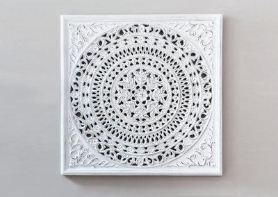 Holzbild Mandala