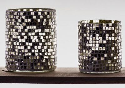 Teelichter Mosaik
